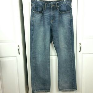 GAP Relaxed jeans, sz 32